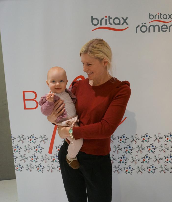 Ella och jag på Britax-event
