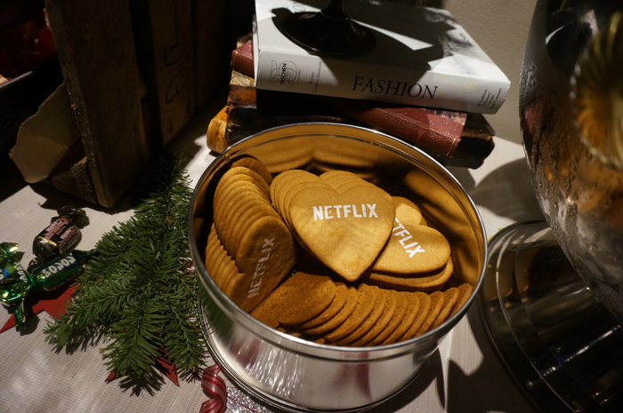 Netflix-pepparkakor