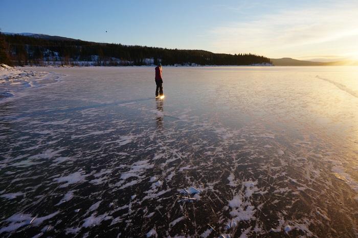 Långfärdskridskor i Jämtland