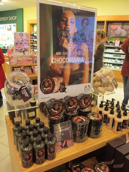 Chocomania Body Shop