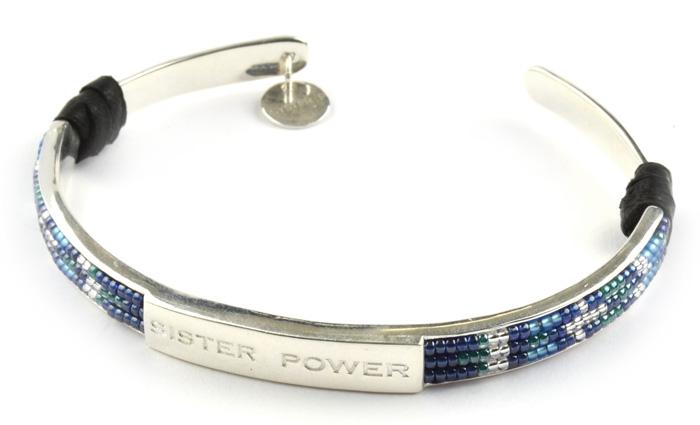 Syster-P-Sister-Power-bracelet,-silver-499-sek