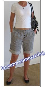 Dagens outfit 6 juli 2006