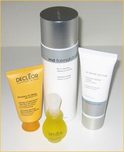 Produkter mot torr hud