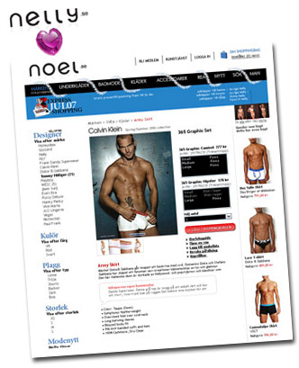 Nya nätbutiken Noel