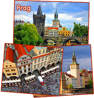 Bilder från Prag