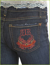 Rock & Republic - Roth Wicked Pocket Crystal Jeans
