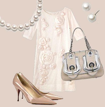 Rosenklänning