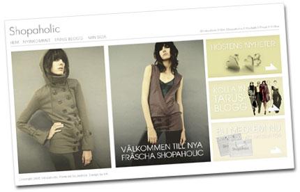 Ny design Shopaholic