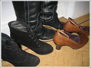 Putsade skor