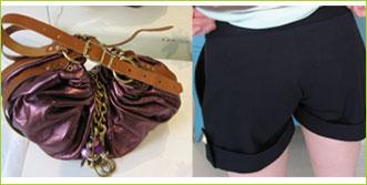 Väska och shorts från Bar O´d mar