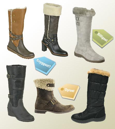 Varma skor inför vintern