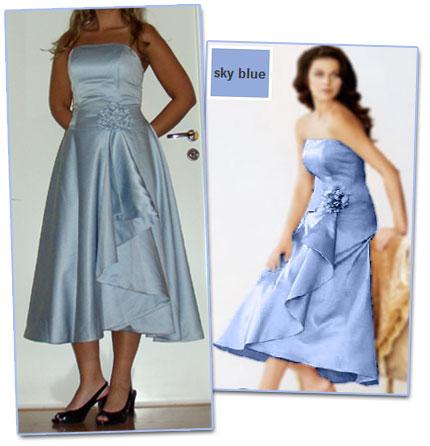Måttbeställa klänning från Kina