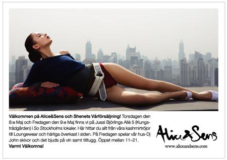Dagens tips: Alice & Sens vårförsäljning hos Shenet