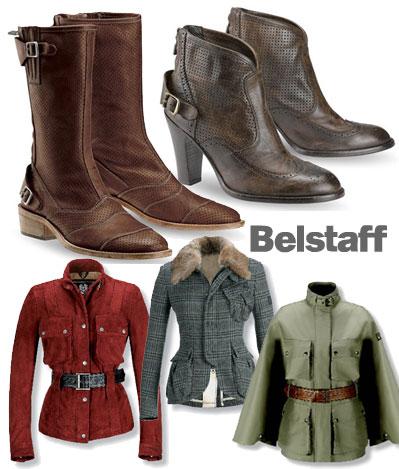Boots och jackor från Belstaff