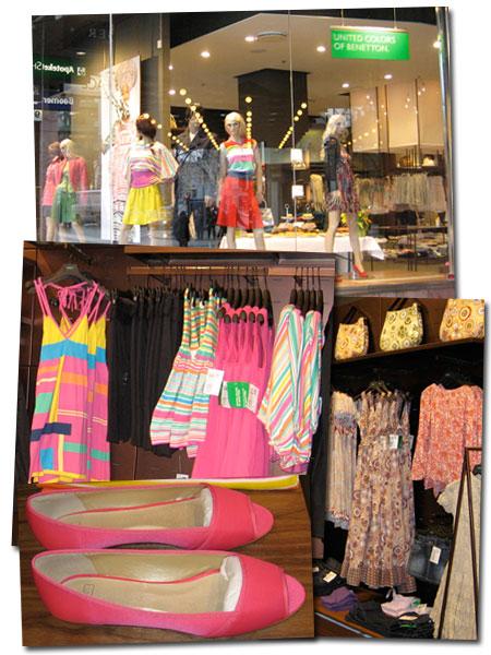 Besök i Benettons nya butik