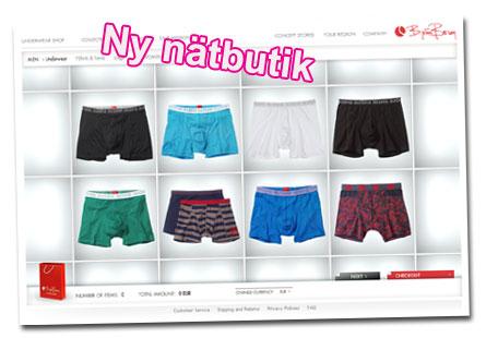 Ny nätbutik: Björn Borg