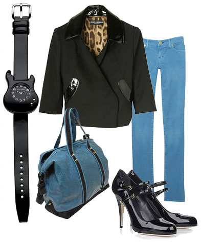 Black & blue Wednesday