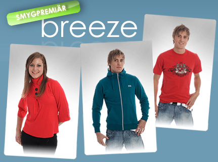 Ny butik Breeze