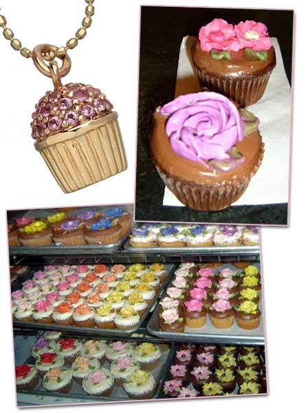 Cupcake som halsband