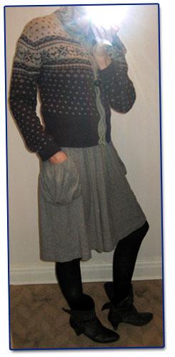 Dagens outfit: farmorklädd