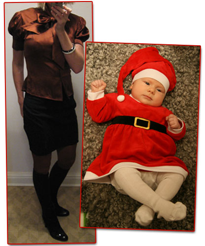 Dagens outfit: Julafton