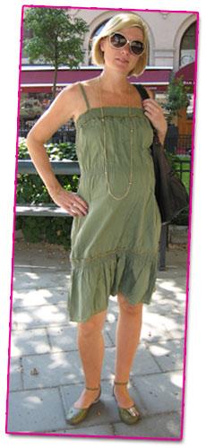 Dagens outfit: militärgrönt