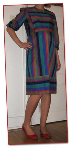 Secondhandklänning