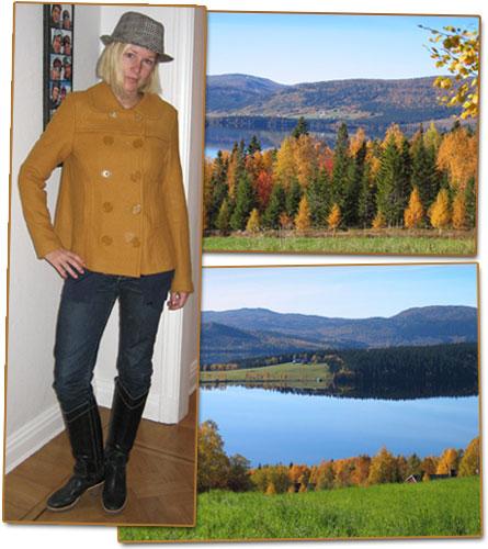 Dagens outfit: höstfärger