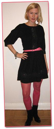 Kvällens outfit: bloggdrink