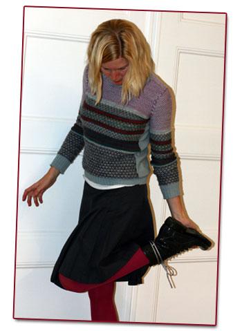 Dagens kläder: Rea-spaning