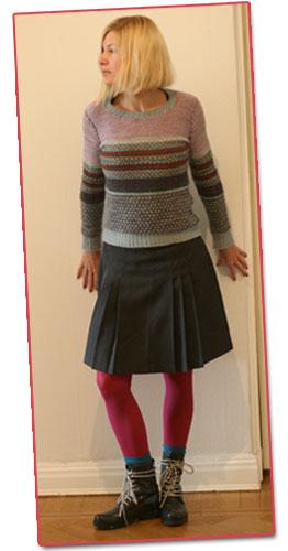 Dagens kläder: Fika på Sirap