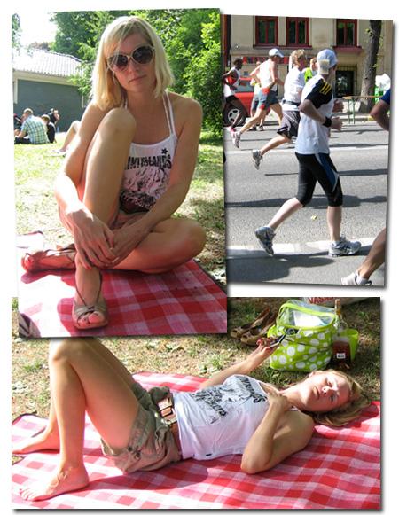 Dagens kläder: Marathon