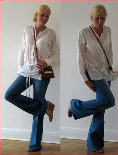 Dagens kläder: Vida ben