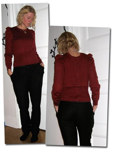 Dagens kläder: Ny tröja
