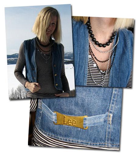 Dagens kläder: Jeansväst