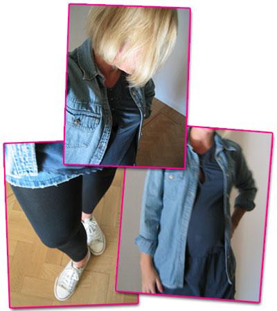 Dagens outfit: jeansskjorta