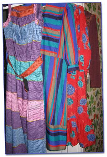 Färgglatt i garderoben