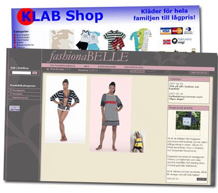Fashionbelle och KLAB Shop