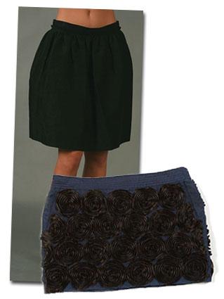 Heta kjolar på rea