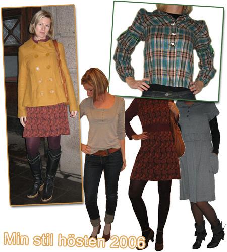 Min stil: Hösten 2006