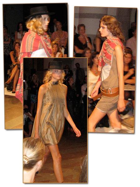 Modevisning: Hunky Dory S/S 2009