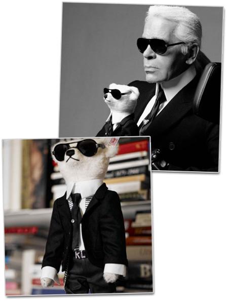 Karl Lagerfelds nalle