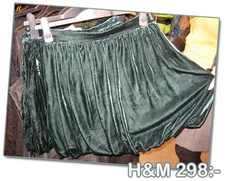 kjol h&m