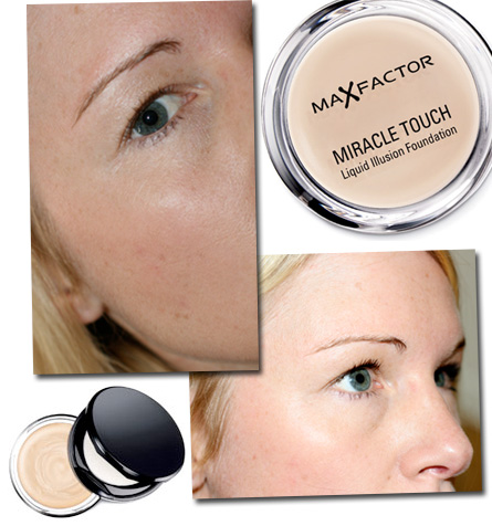 Mia testar: Max Factor Miracle Touch