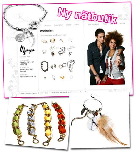 Ny nätbutik: Maya Design
