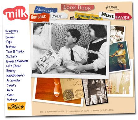 Ny butik Milk