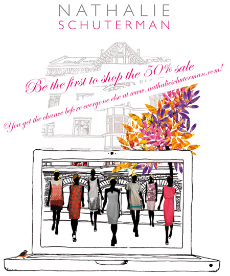 50% i Nathalie Schutermans nätbutik