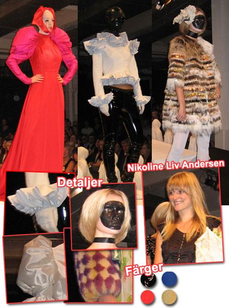 Modevisning Nikoline Liv Andersen