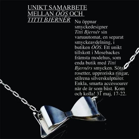 Titti Bjernérs smycken hos ÖÖS