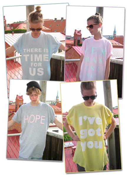 T-shirts med tryck från Permanent Vacation